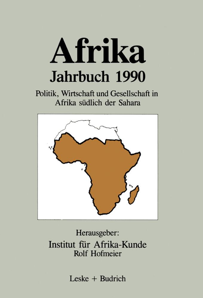 Afrika Jahrbuch 1990 als Buch