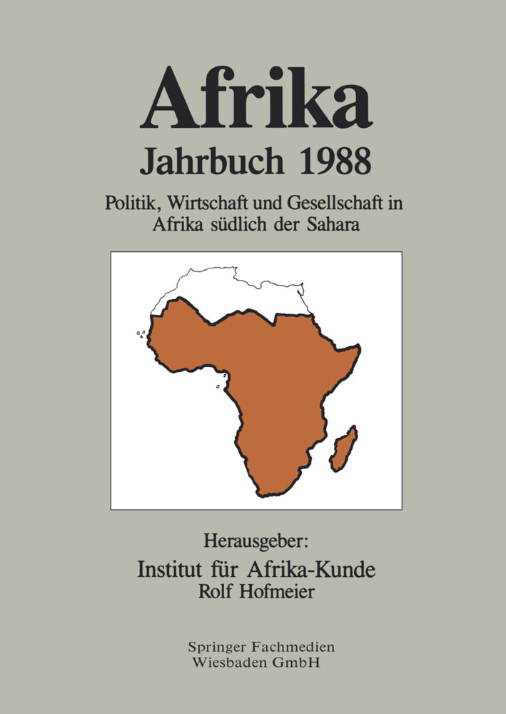 Afrika Jahrbuch 1988 als Buch
