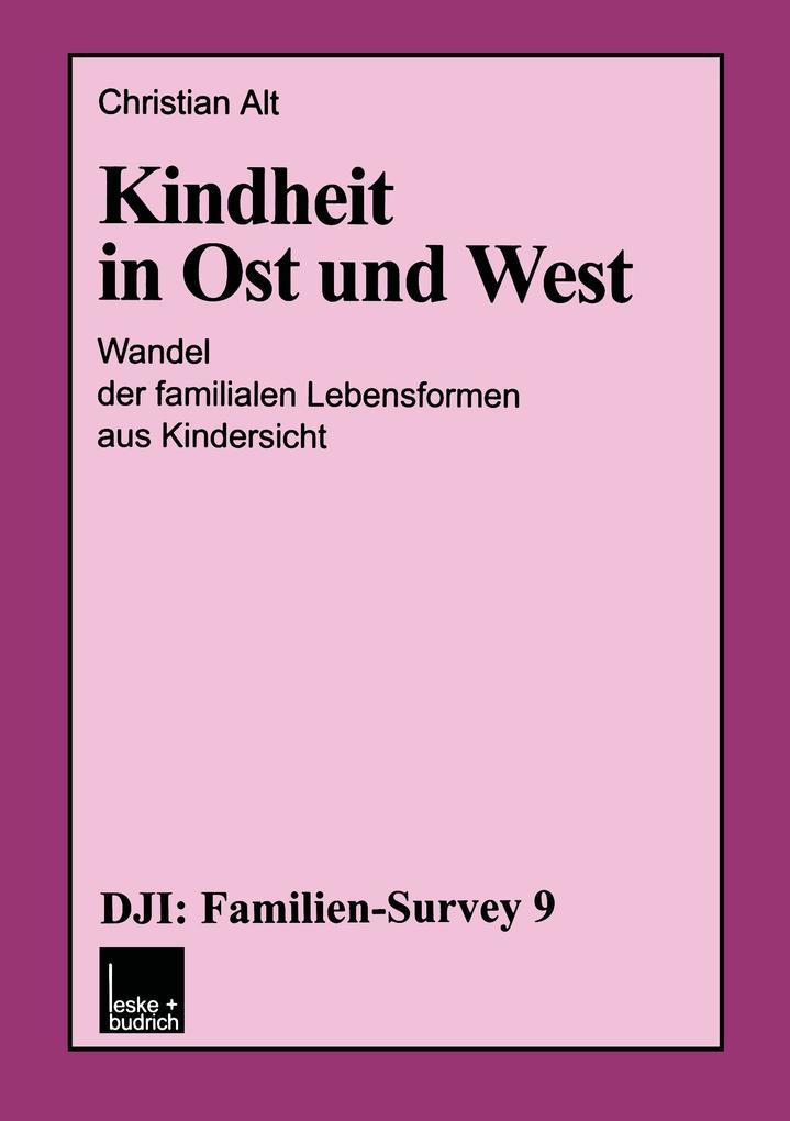 Kindheit in Ost und West als Buch