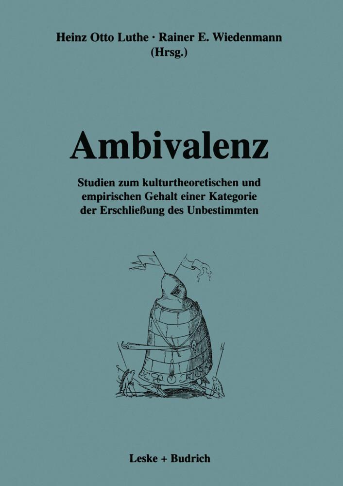 Ambivalenz als Buch