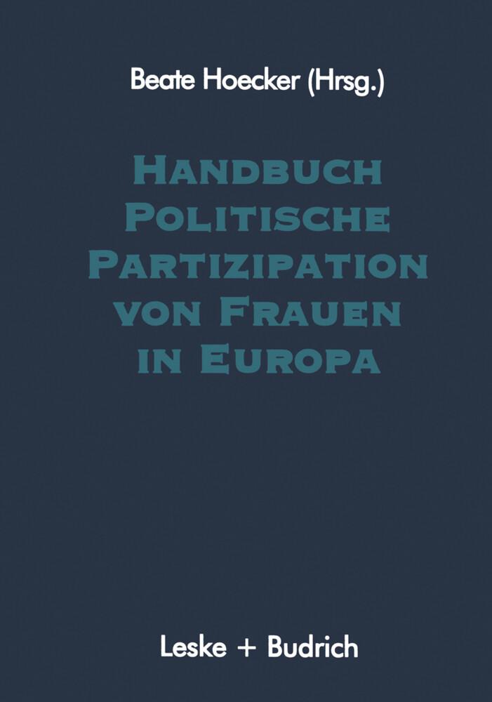 Handbuch Politische Partizipation von Frauen in Europa als Buch