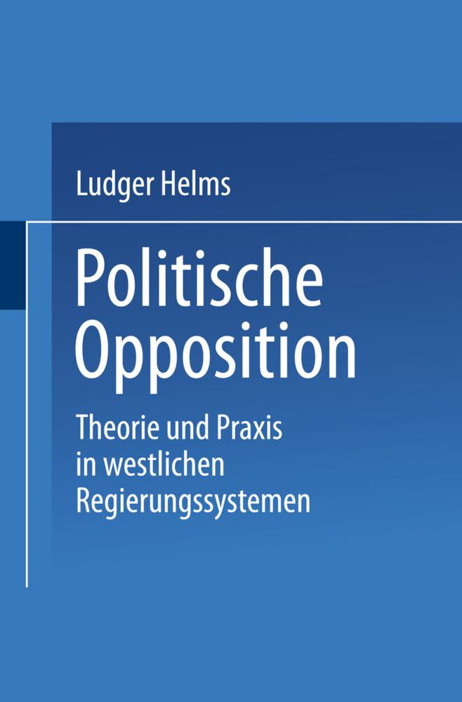 Politische Opposition als Buch