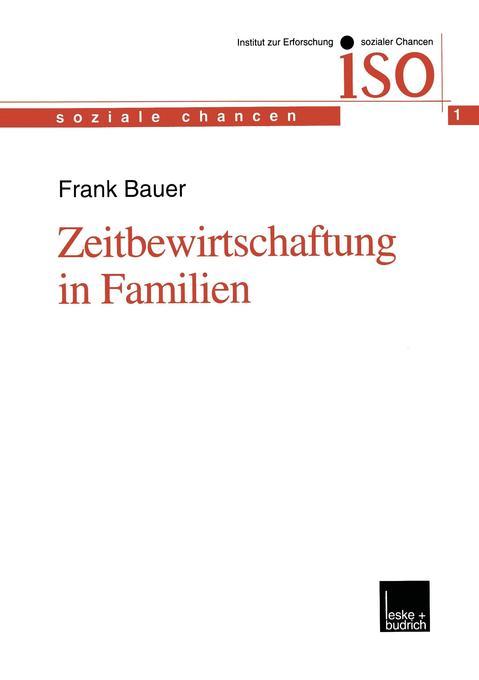Zeitbewirtschaftung in Familien als Buch