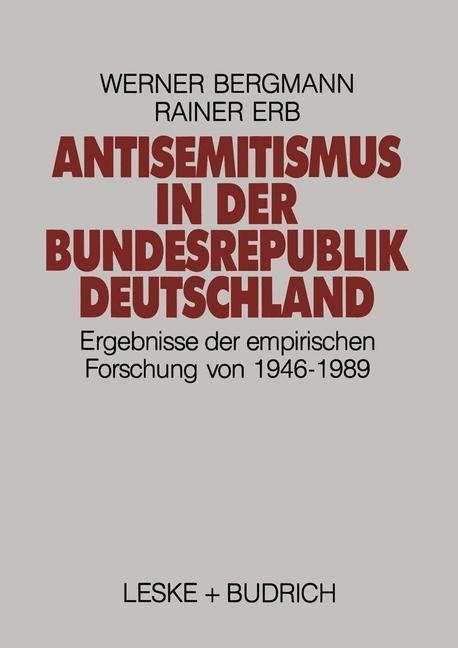 Antisemitismus in der Bundesrepublik Deutschland als Buch