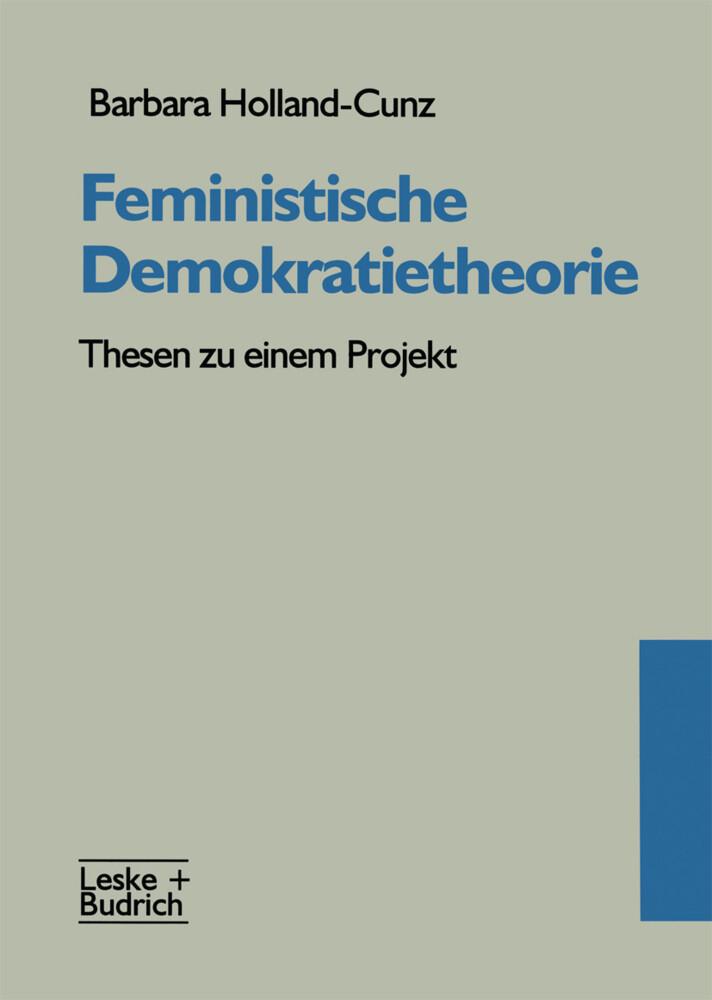 Feministische Demokratietheorie als Buch
