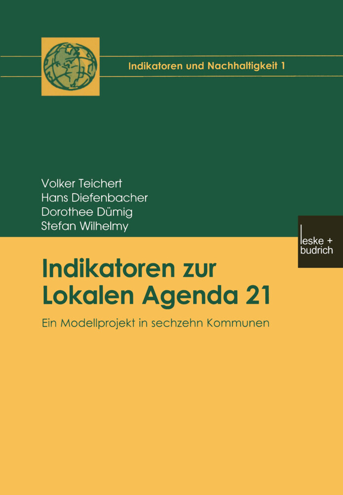 Indikatoren zur Lokalen Agenda 21, m. CD-ROM als Buch