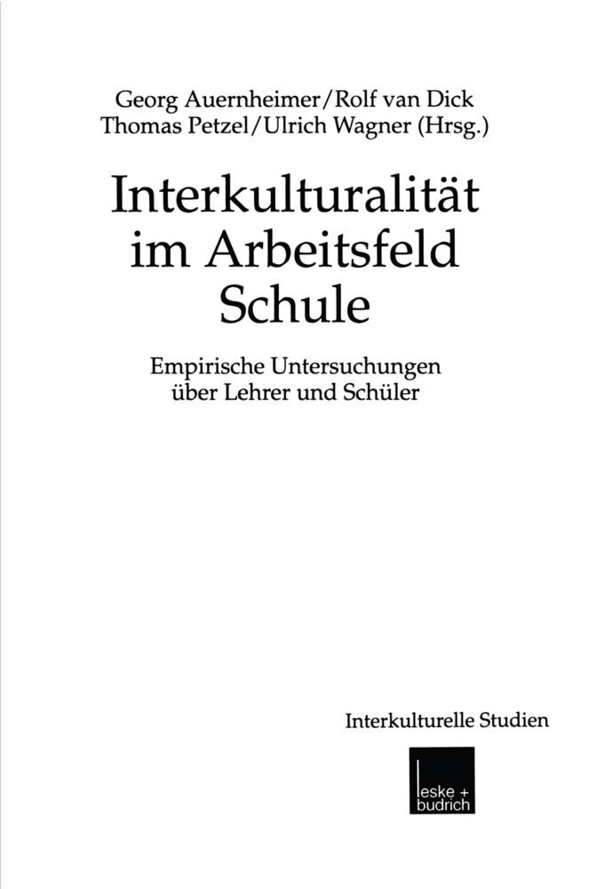 Interkulturalität im Arbeitsfeld Schule als Buch