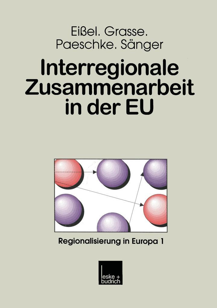 Interregionale Zusammenarbeit in der EU als Buch