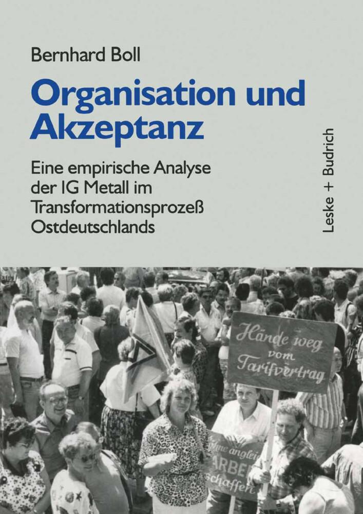 Organisation und Akzeptanz als Buch