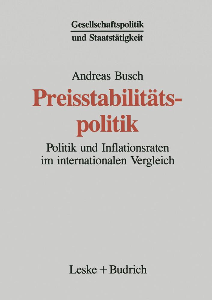 Preisstabilitätspolitik als Buch
