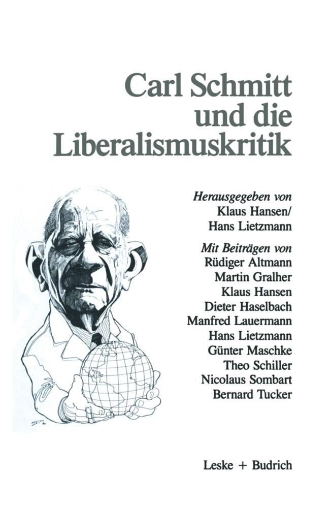 Carl Schmitt und die Liberalismuskritik als Buch