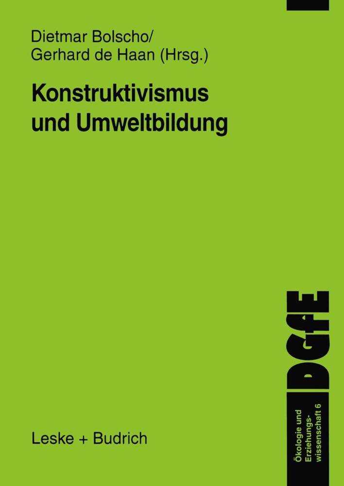 Konstruktivismus und Umweltbildung als Buch