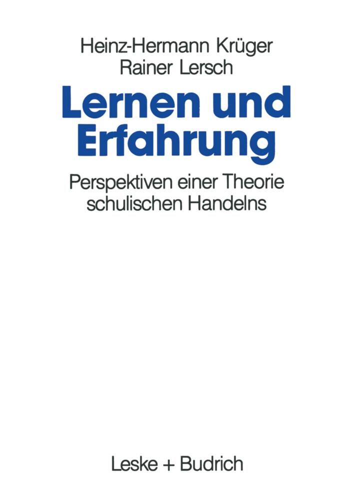 Lernen und Erfahrung als Buch
