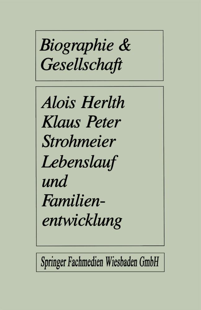 Lebenslauf und Familienentwicklung als Buch