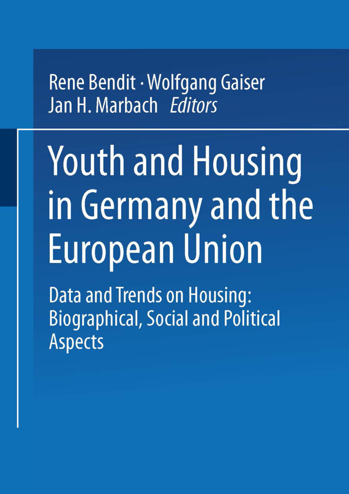 Youth and Housing in Germany and the European Union als Buch