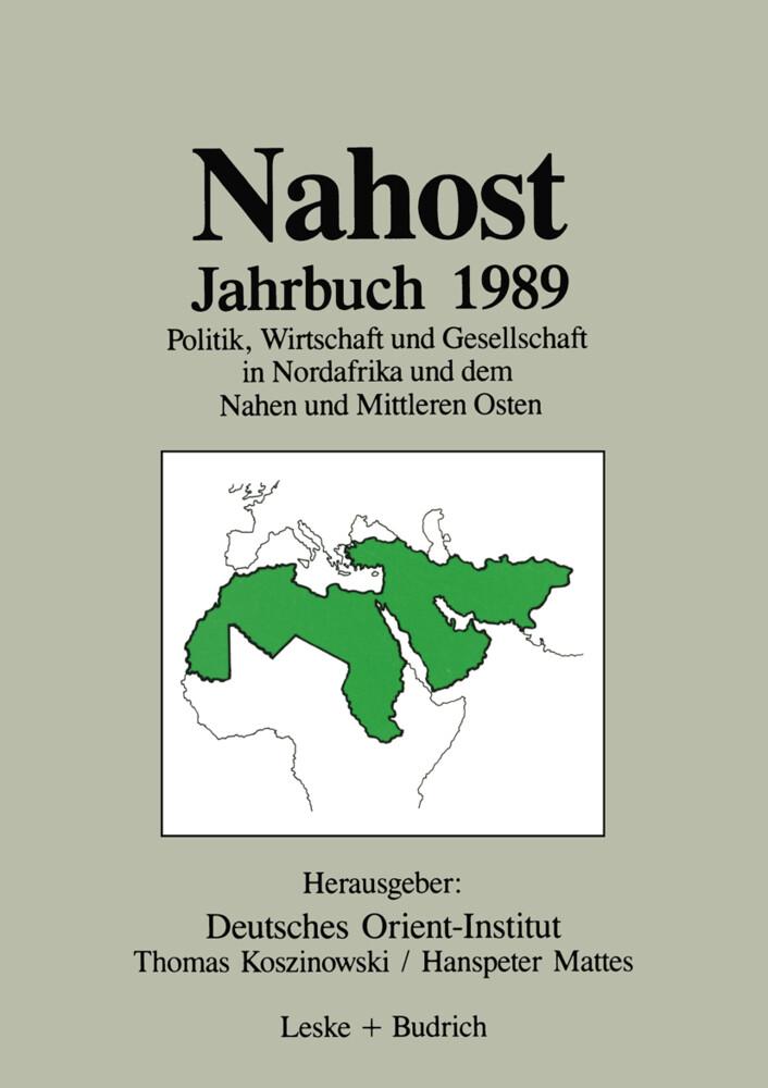 Nahost Jahrbuch 1989 als Buch