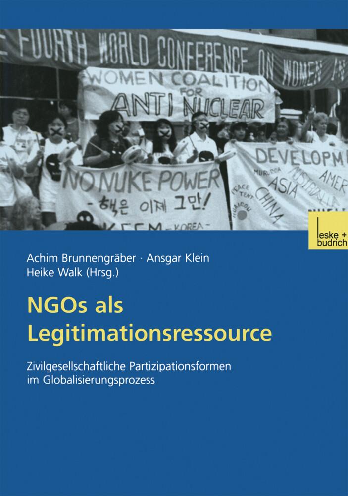 NGOs als Legitimationsressource als Buch