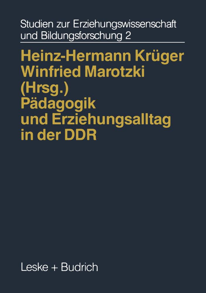 Pädagogik und Erziehungsalltag in der DDR als Buch