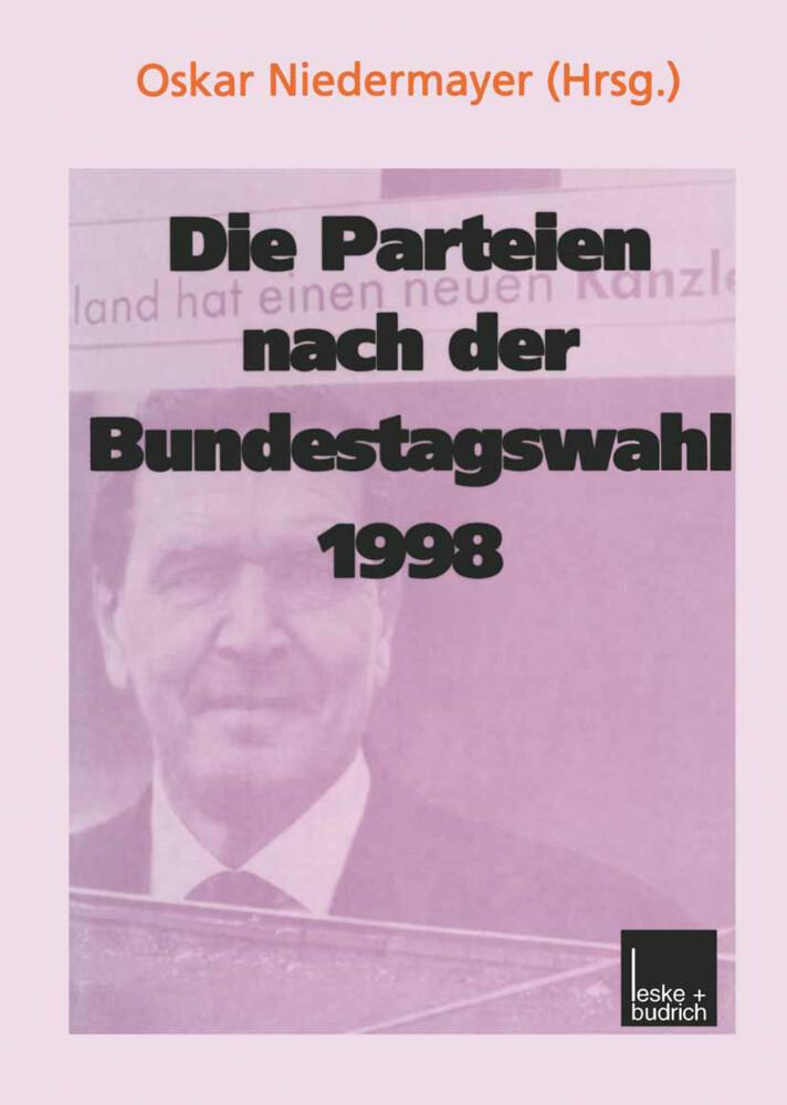 Die Parteien nach der Bundestagswahl 1998 als Buch