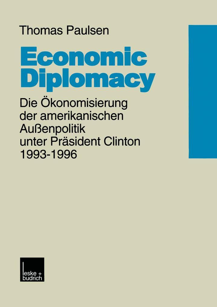 Economic Diplomacy als Buch