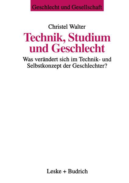 Technik, Studium und Geschlecht als Buch
