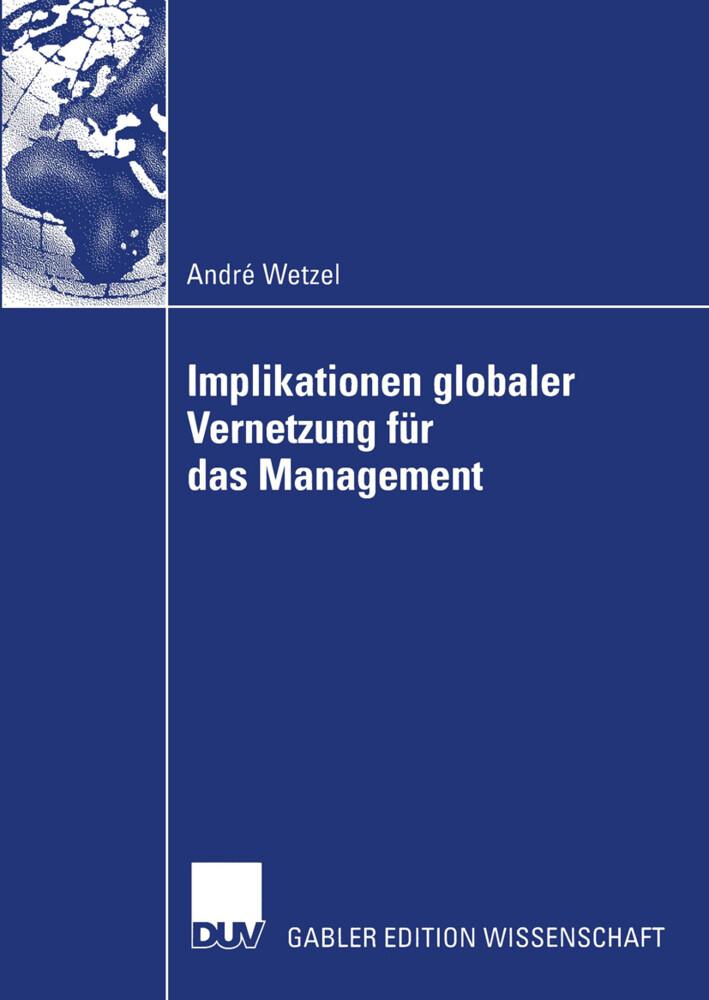 Implikationen globaler Vernetzung für das Management als Buch