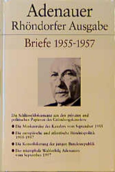 Briefe 1955 - 1957. Rhöndorfer Ausgabe als Buch