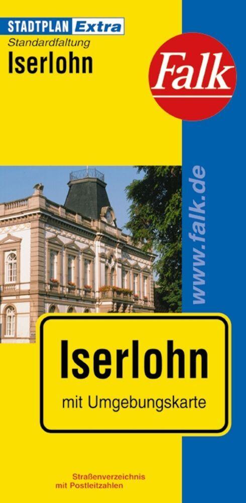 Falk Stadtplan Extra Standardfaltung Iserlohn 1:19 000 als Buch