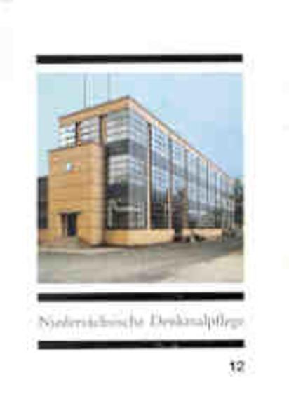 Niedersächsische Denkmalpflege XII als Buch