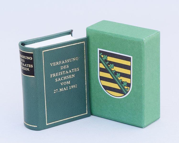 Verfassung des Freistaates Sachsen vom 27. Mai 1992 als Buch