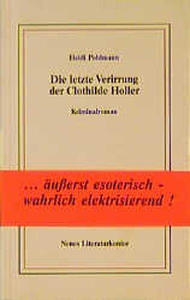 Die letzte Verirrung der Clothilde Holler als Buch