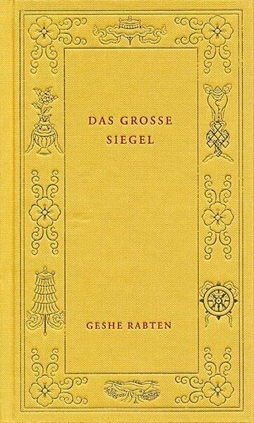 Das grosse Siegel als Buch