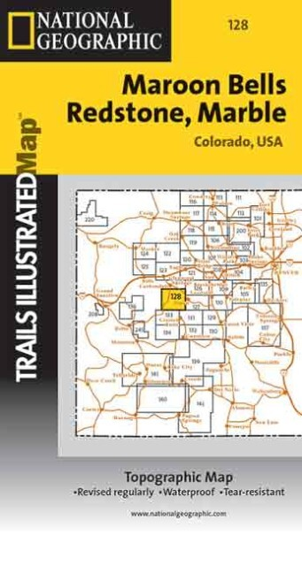 Trails Illustrated - Colorado-Maroon Bells/Redstone als Spielwaren