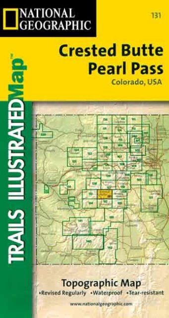 Trails Illustrated - Colorado-Crested Butte/Prl Pass als Spielwaren