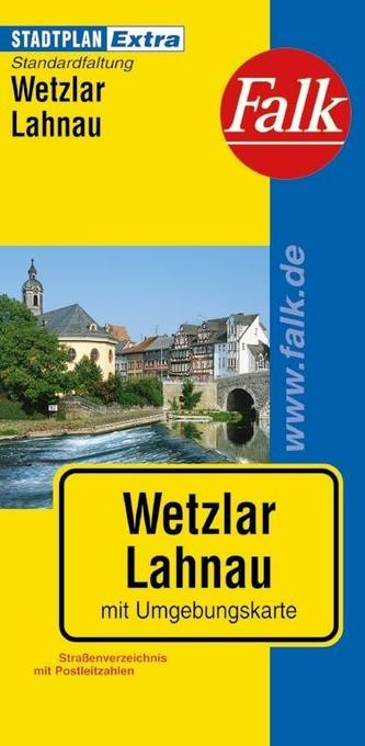 Falk Stadtplan Extra Standardfaltung Wetzlar, L...