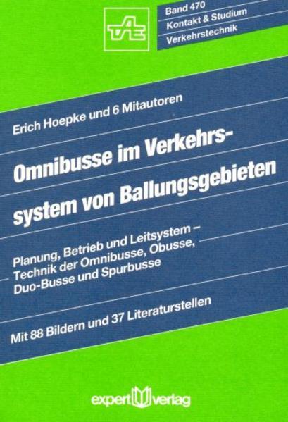 Omnibusse im Verkehrssystem von Ballungsgebieten als Buch