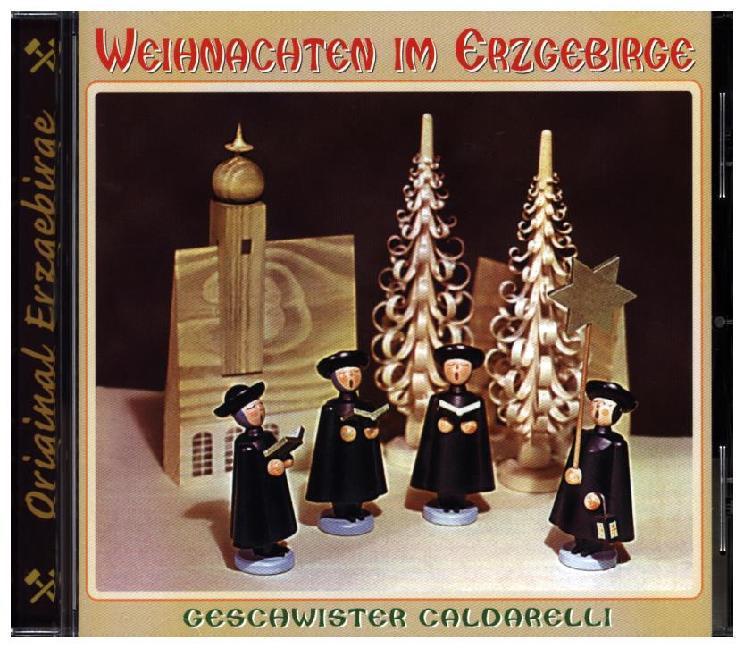 Weihnachten im Erzgebirge, 1 Audio-CD als CD