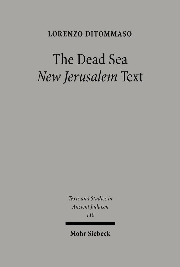 The Dead Sea 'New Jerusalem' Text als Buch