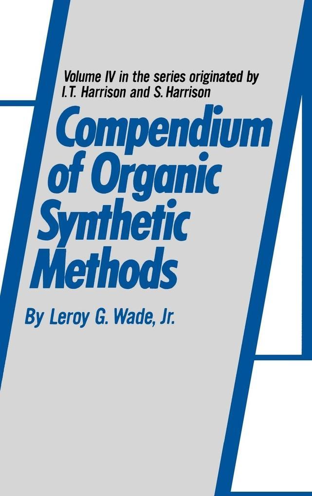 Compendium Organic Synthetic V4 als Buch