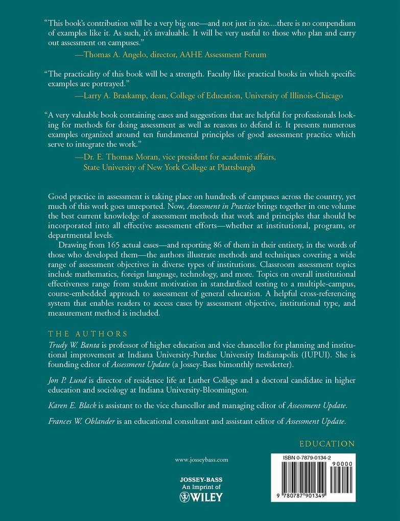 Assessment Practice College Campuses als Taschenbuch