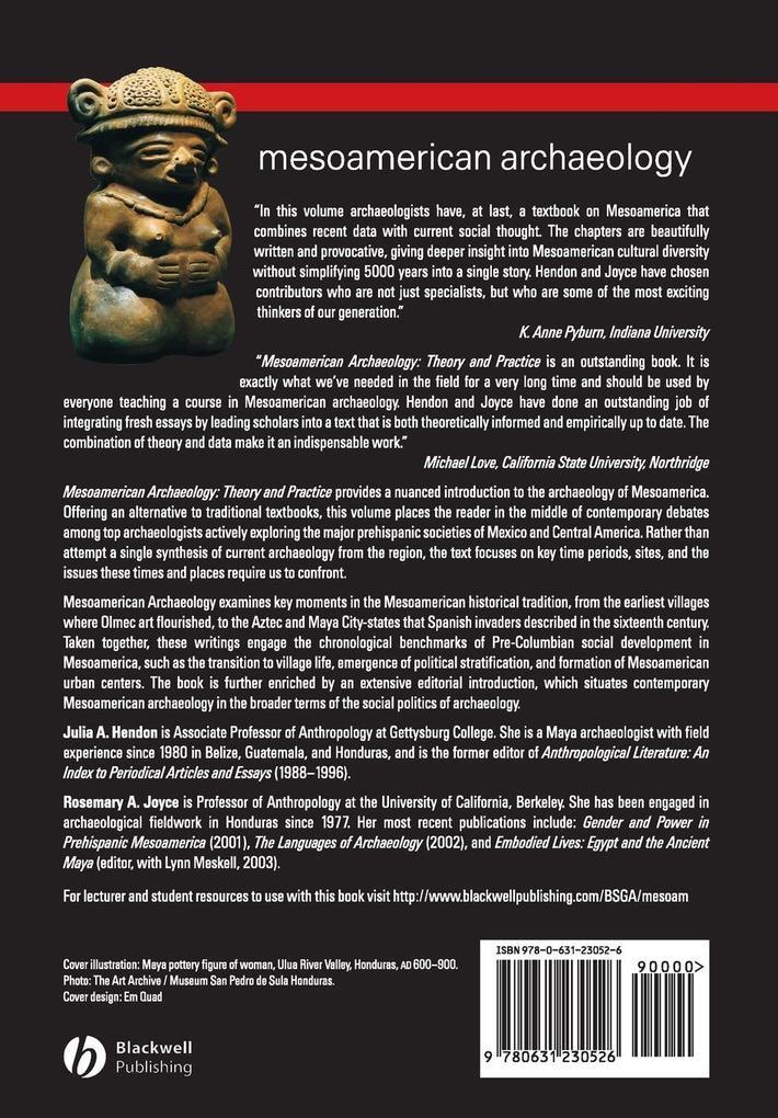 Mesoamerican Archaeology als Buch