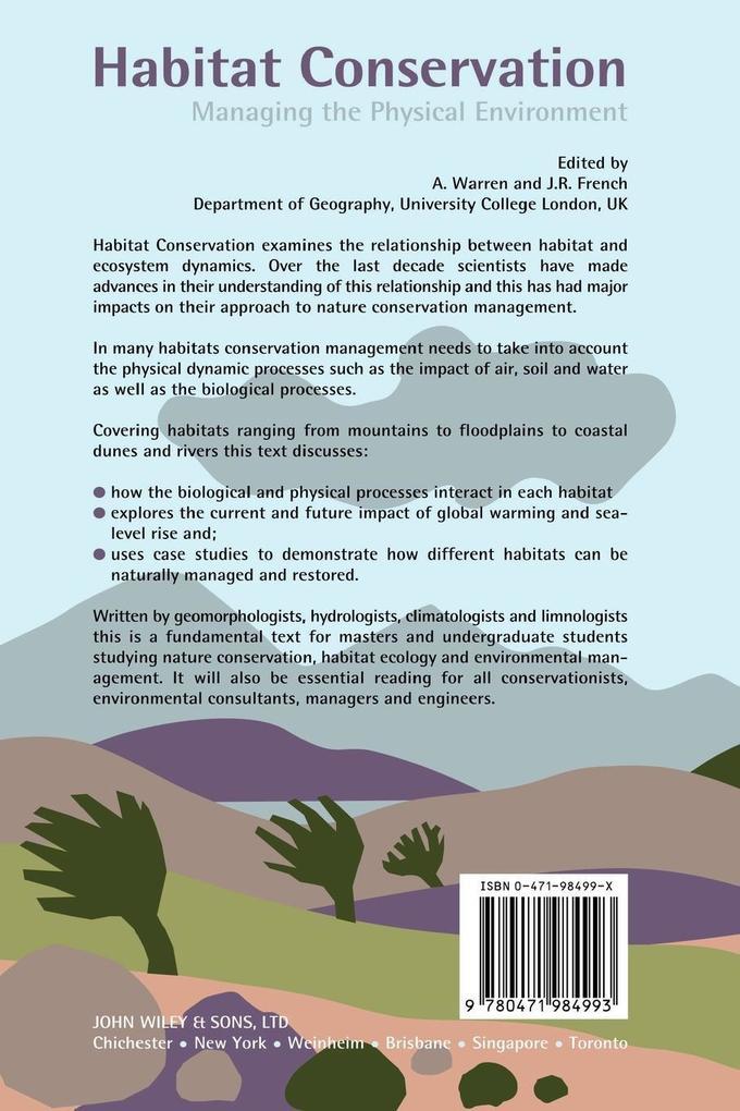 Habitat Conservation als Taschenbuch