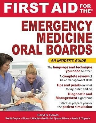 First Aid for the Emergency Medicine Oral Boards als Taschenbuch