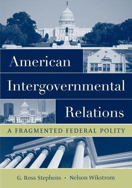 American Intergovernmental Relations als Taschenbuch