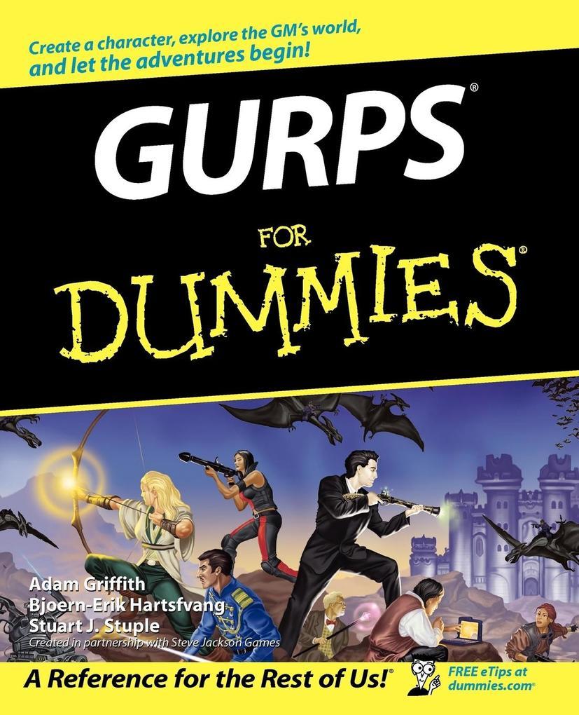 GURPS For Dummies als Taschenbuch