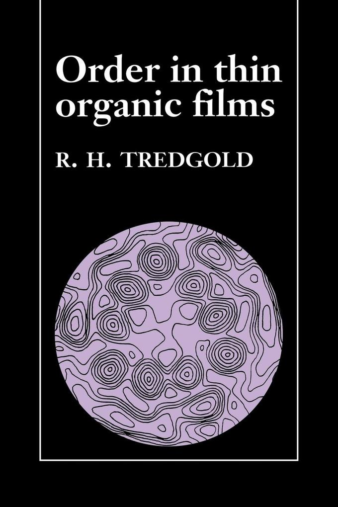 Order in Thin Organic Films als Buch