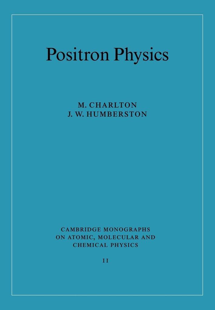 Positron Physics als Taschenbuch