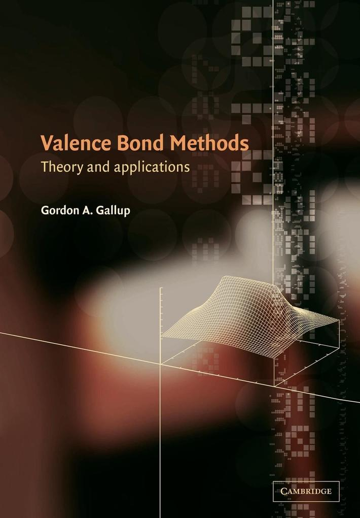 Valence Bond Methods: Theory and Applications als Buch