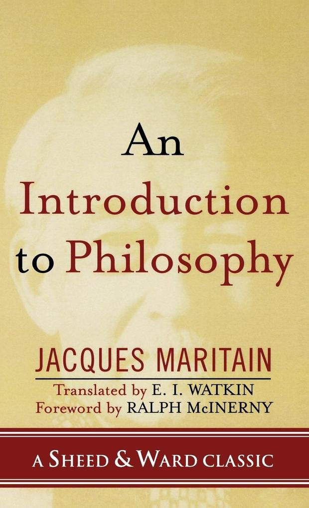An Introduction to Philosophy als Buch