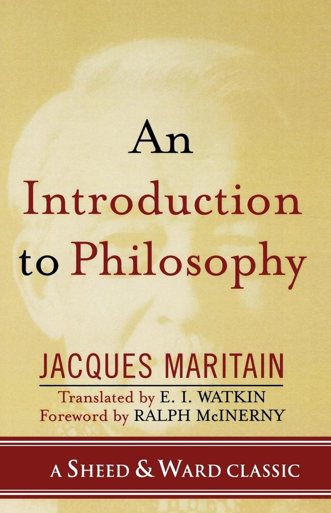 Introduction to Philosophy als Taschenbuch